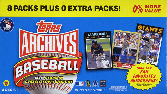 2012 Topps Archives