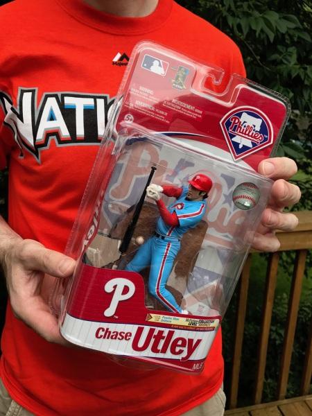 2011 McFarlane MLB 27 Chase Utley Philadelphia Phillies Powder Blue Collector Level Bronze